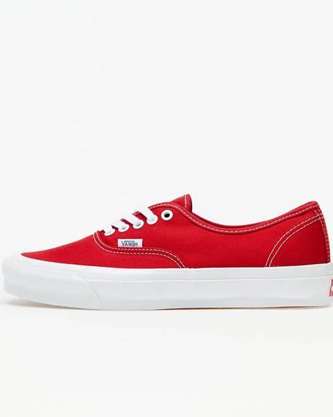 Červené tenisky Vans Vault