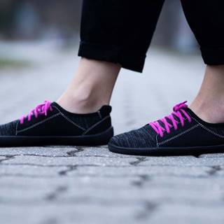 Barefoot tenisky Ace - Vegan - All Black 36
