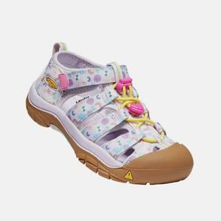Ružové dievčenksé vzorované sandále Keen