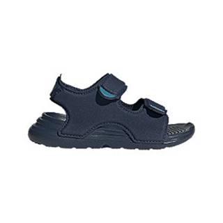 Tmavomodré sandále Adidas Swim I