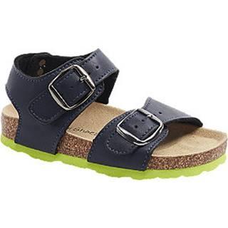 Tmavomodré sandále Bobbi Shoes