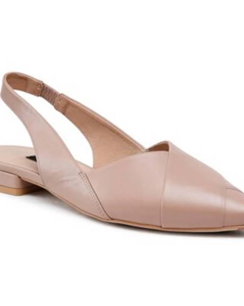 Béžové balerínky Gino Rossi