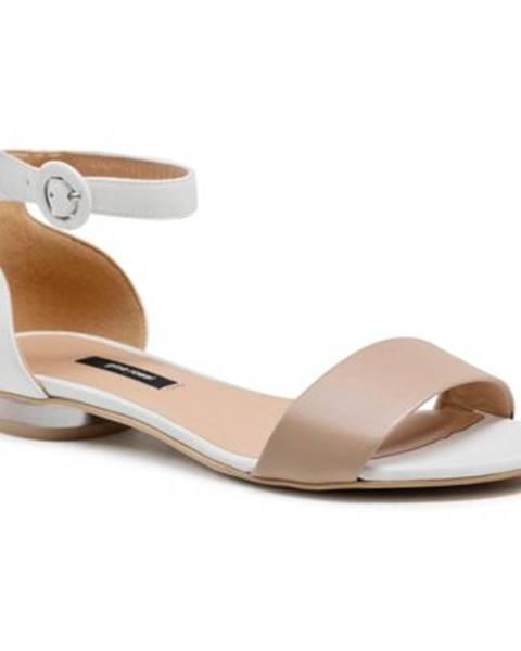 Béžové sandále Gino Rossi