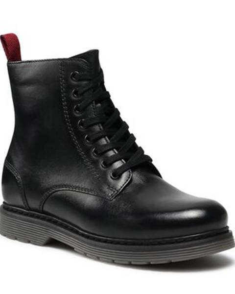 Čierne topánky Lasocki