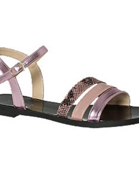 Viacfarebné sandále Venice