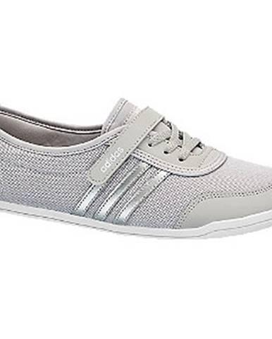 Sivé balerínky adidas