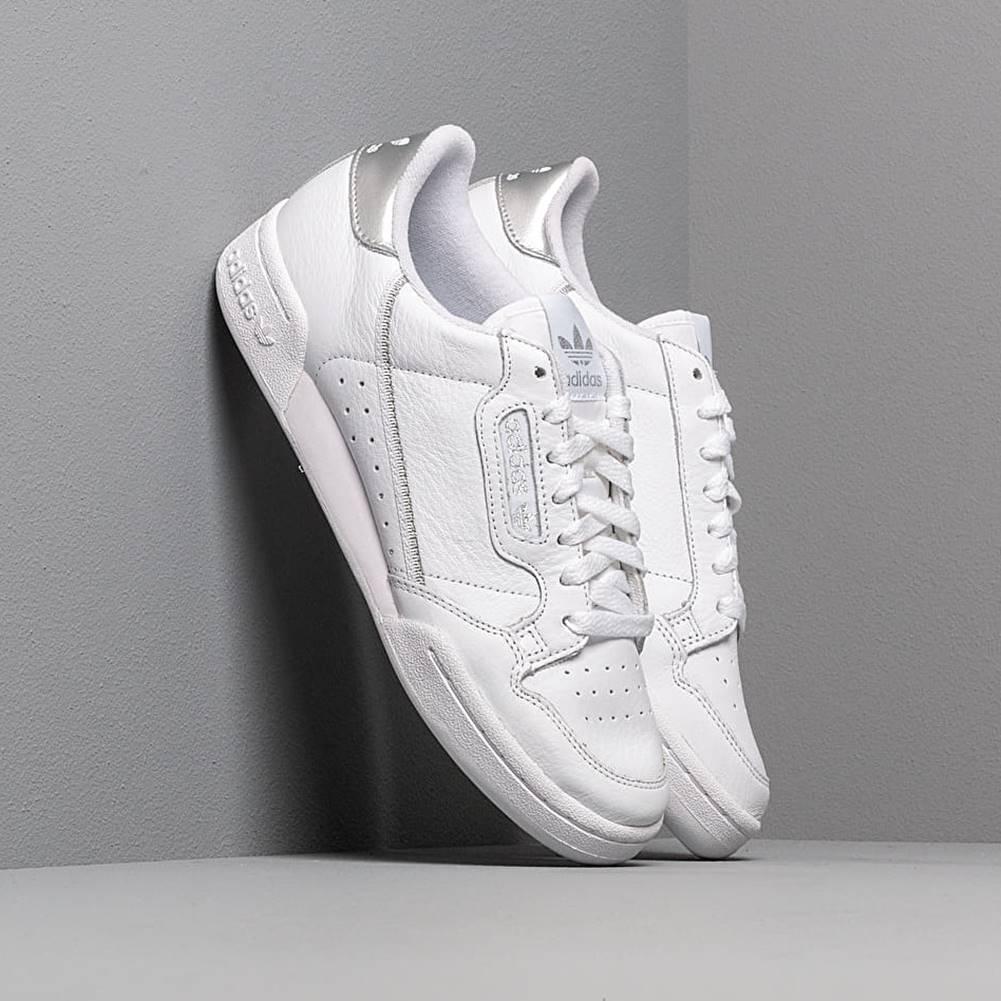 adidas Originals adidas Continental 80 W Ftw White/ Ftw White/ Silver Metalic