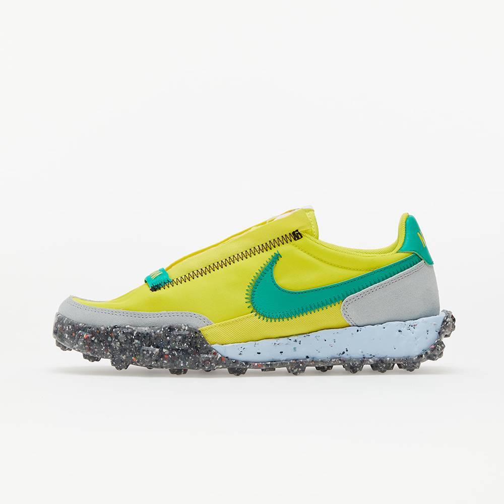 Nike W Waffle Racer Crater Yellow Strike/ Roma Green