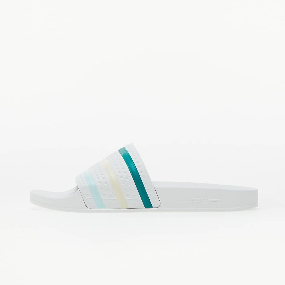adidas Originals adidas Adilette Ftw White/ Halo Mint/ Worn White