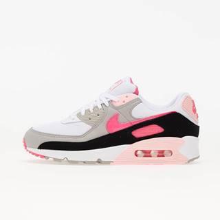 W Air Max 90 White/ Hyper Pink