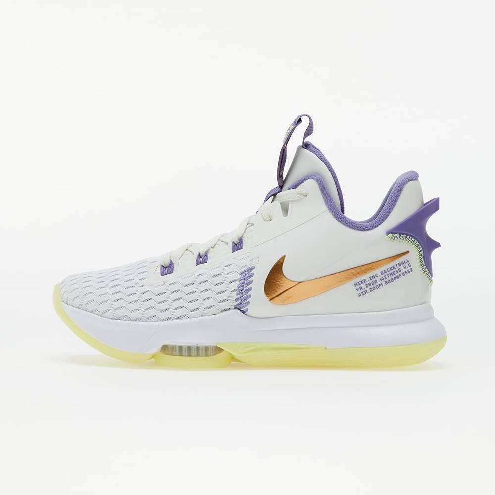 Nike LeBron Witness 5 Summit White/ Mtlc Bronze