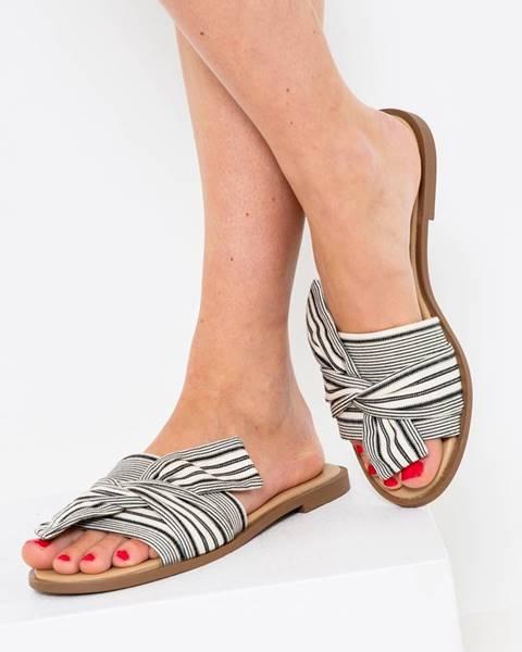 Sivé papuče CAMAIEU