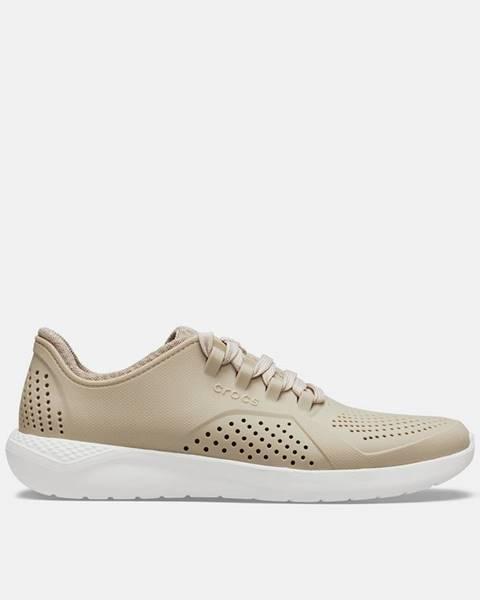 Béžové tenisky Crocs