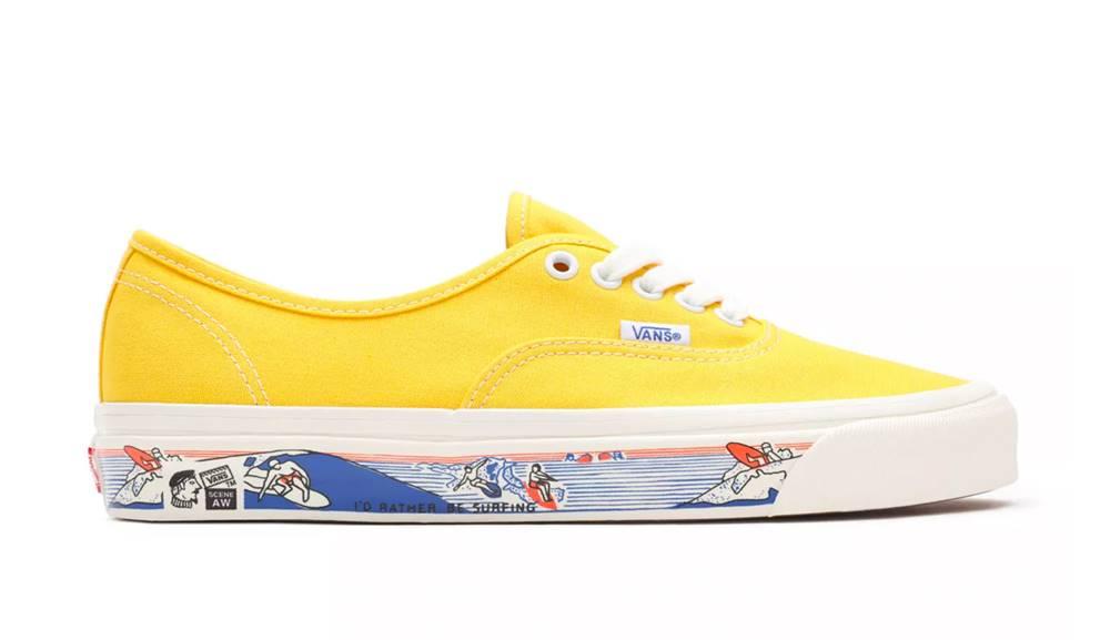 Vans Tenisky Vans Ua Authentic 44 Dx (Anaheim Factory) Og Yellow
