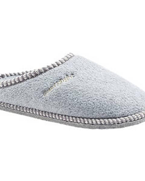 Sivé papuče Casa mia