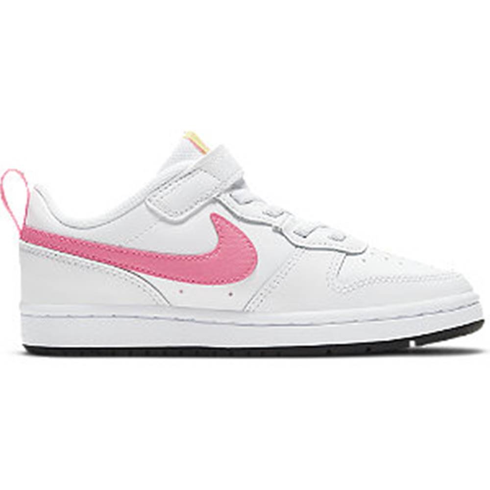Nike Biele tenisky na suchý zips Nike Court Borough Low
