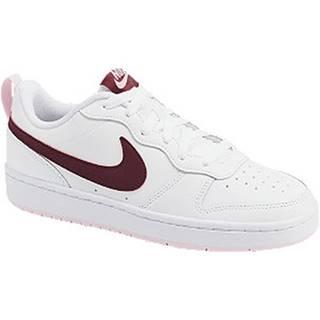 Biele tenisky Nike Court Borough Low 2 (Gs)