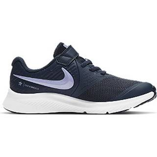 Tmavomodré tenisky na suchý zips Nike Star Runner 2