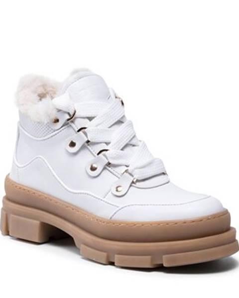 Biele topánky Badura