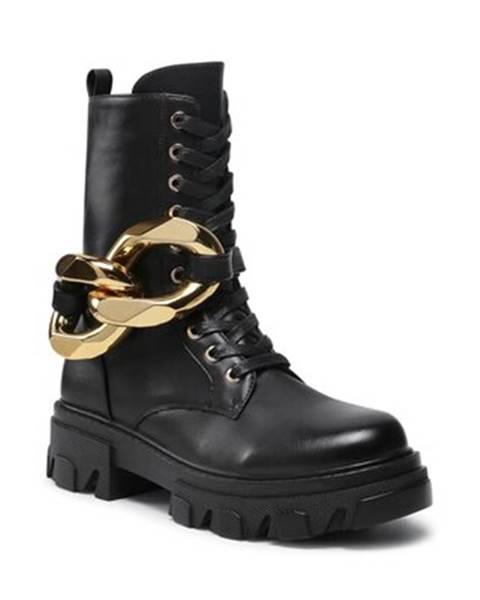 Čierne topánky Quazi