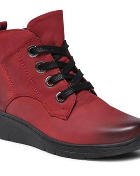 Červené topánky GO SOFT