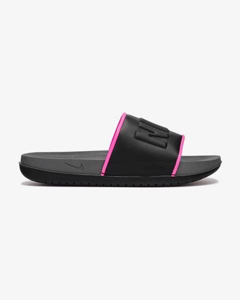 Čierne papuče Nike