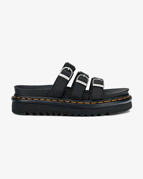 Čierne papuče Dr. Martens