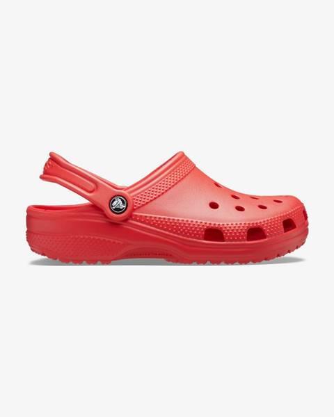 Červené sandále Crocs