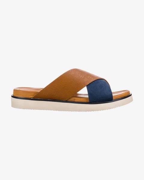 Modré papuče Wrangler