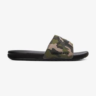 Sandále, papuče pre mužov  - čierna, zelená
