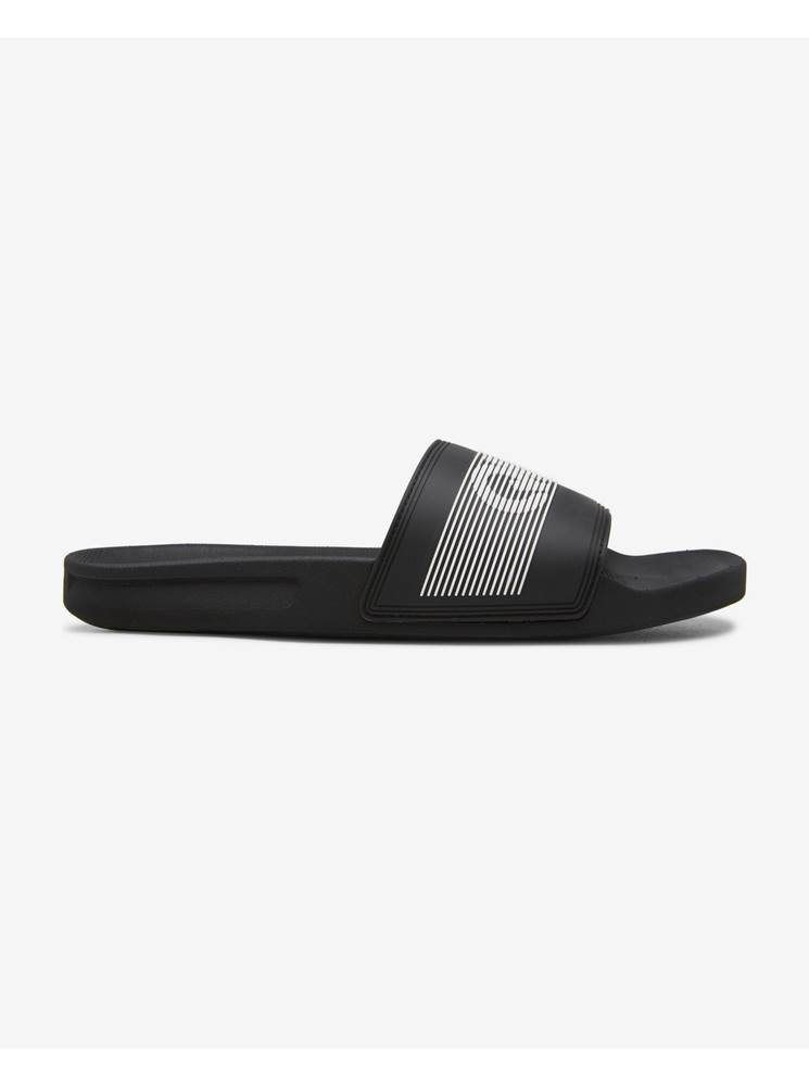 Quiksilver Sandále, papuče pre mužov  - čierna