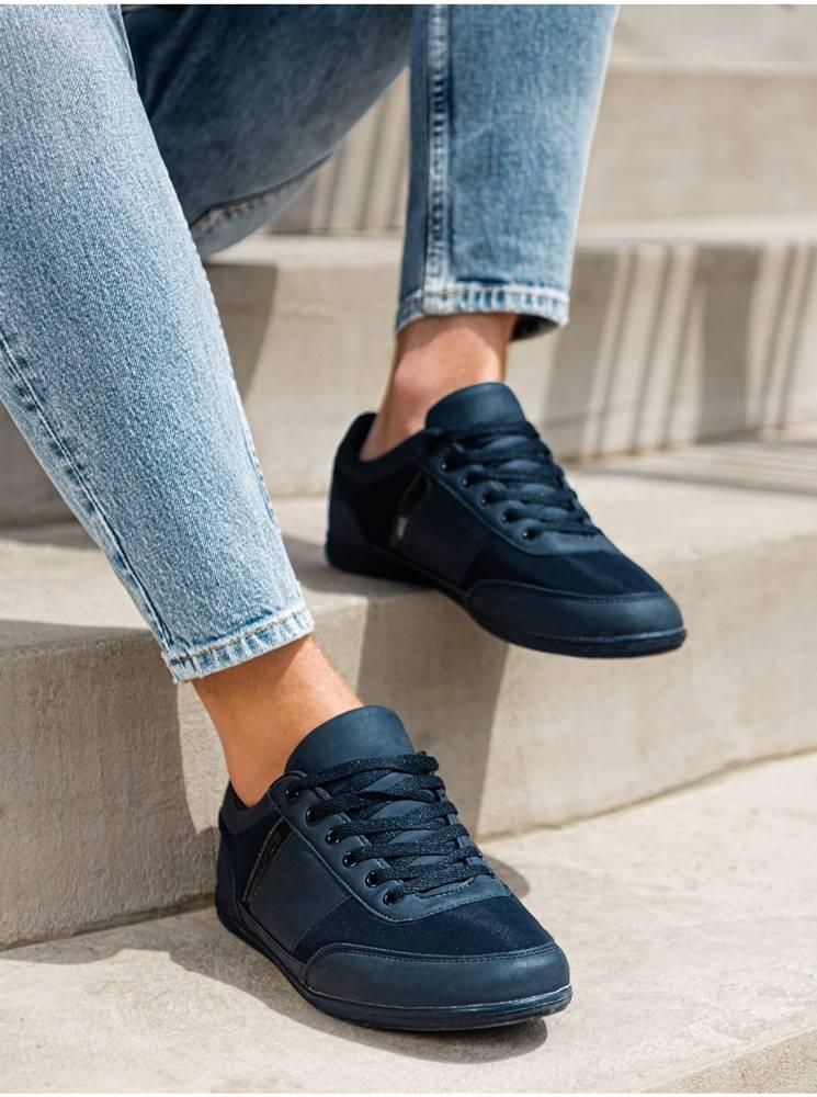 Ombre Clothing Pánske sneakers topánky T338 - námornícke