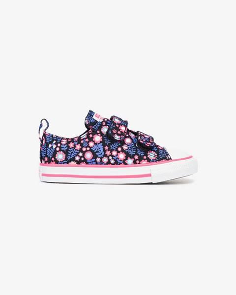 Fialové topánky Converse