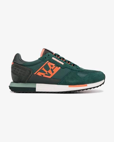 Zelené tenisky Napapijri