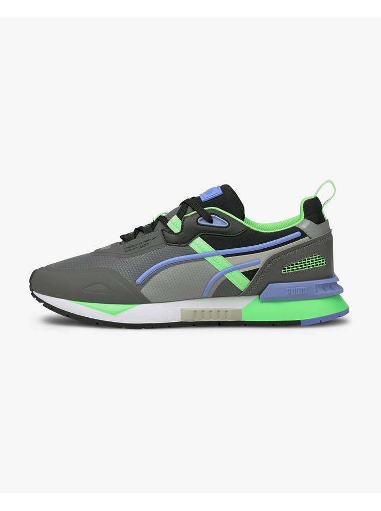 Puma Tenisky, espadrilky pre mužov  - zelená, sivá, fialová