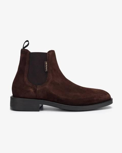 Hnedé topánky GANT