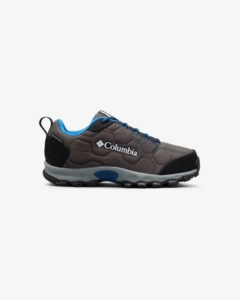 Sivé topánky Columbia
