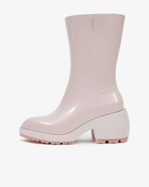 Krémové topánky Melissa
