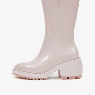 Krémové dámske členkové topánky  Nancy Boots