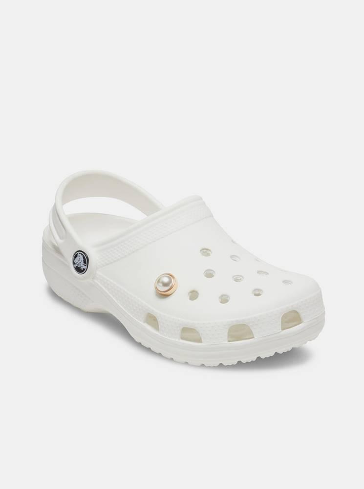 Crocs Ozdoba na topánky v zlatej farbe  Pearl