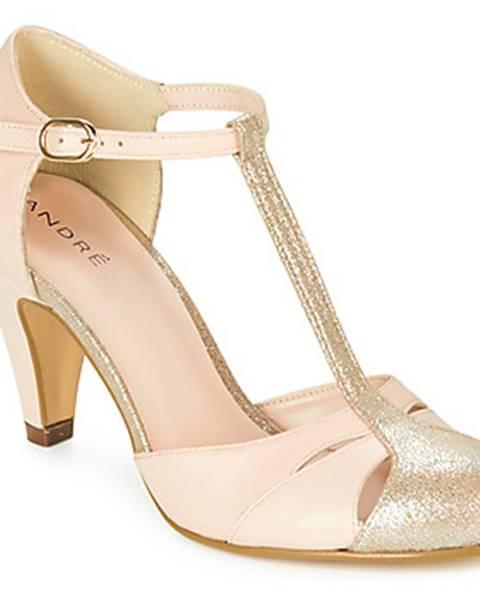 Ružové sandále André