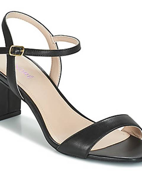 Čierne sandále André