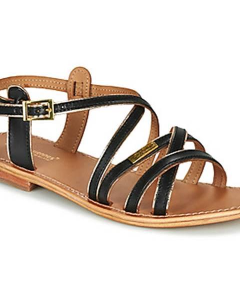 Čierne sandále Les Tropéziennes par M Belarbi