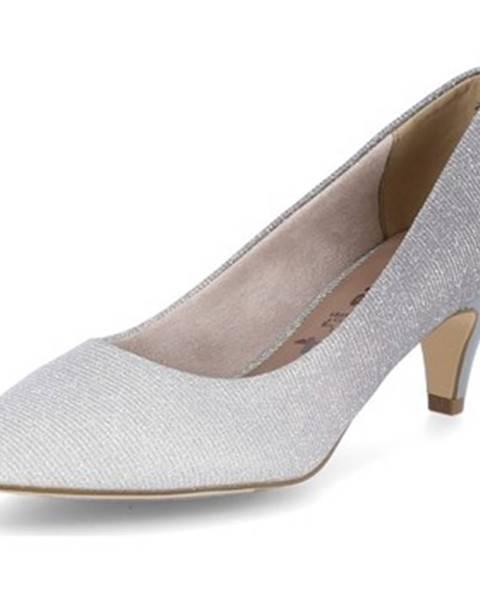 Strieborné topánky Tamaris