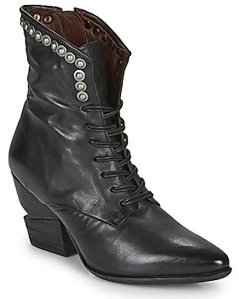 Čierne topánky Airstep / A.S.98