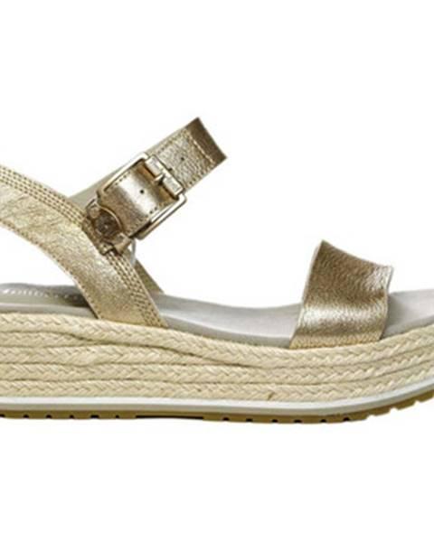 Zlaté sandále Timberland