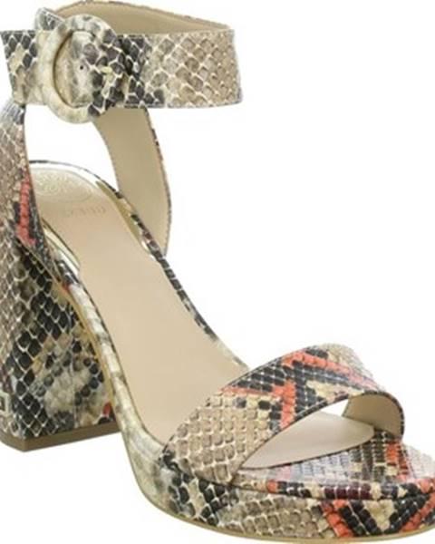 Viacfarebné sandále Guess