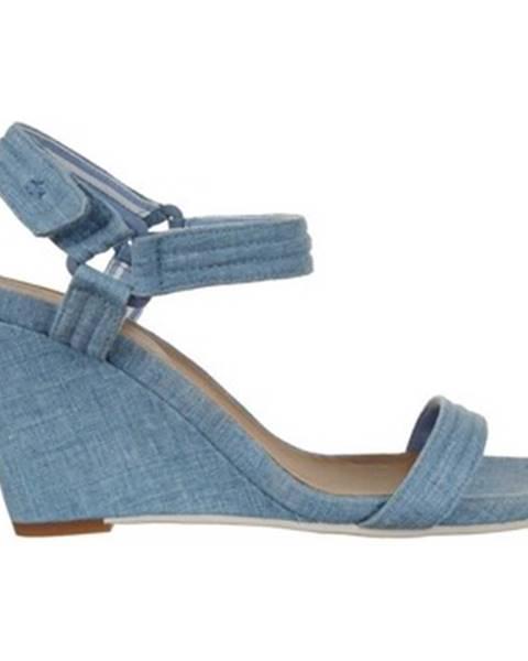 Modré sandále Lacoste