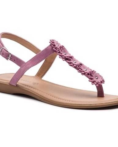 Fialové sandále Via Ravia