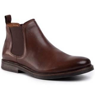 Členkové topánky Gino Rossi MB-YURI-04 Prírodná koža(useň) - Lícova